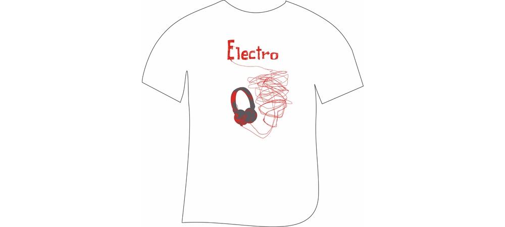 Футболки Artnimble  Футболка Electro