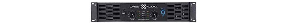 Усилители мощности CREST AUDIO CA9