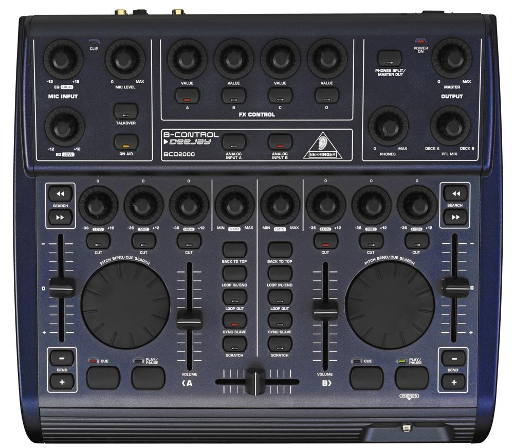 DJ-контроллеры Behringer BCD 2000 B-Control Deejay