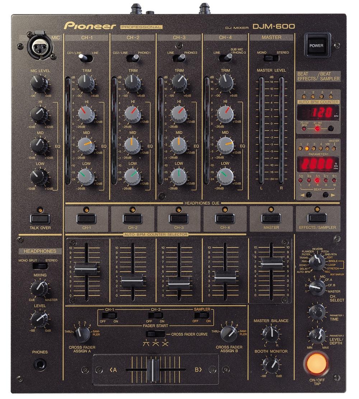 DJ-микшеры Pioneer DJM-600