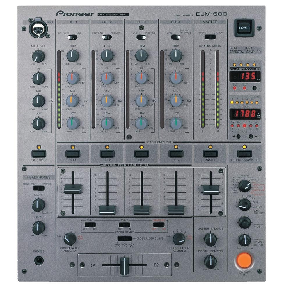DJ-микшеры Pioneer DJM-600S