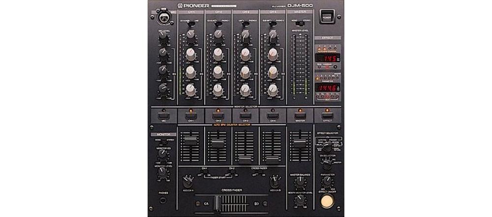 DJ-микшеры Pioneer DJM-500