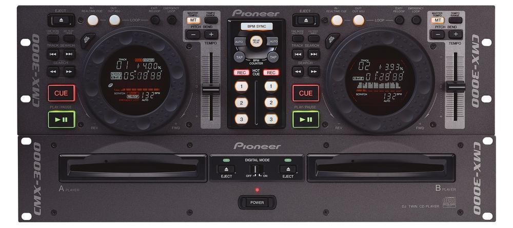 CD/USB-проигрыватели Pioneer CMX-3000