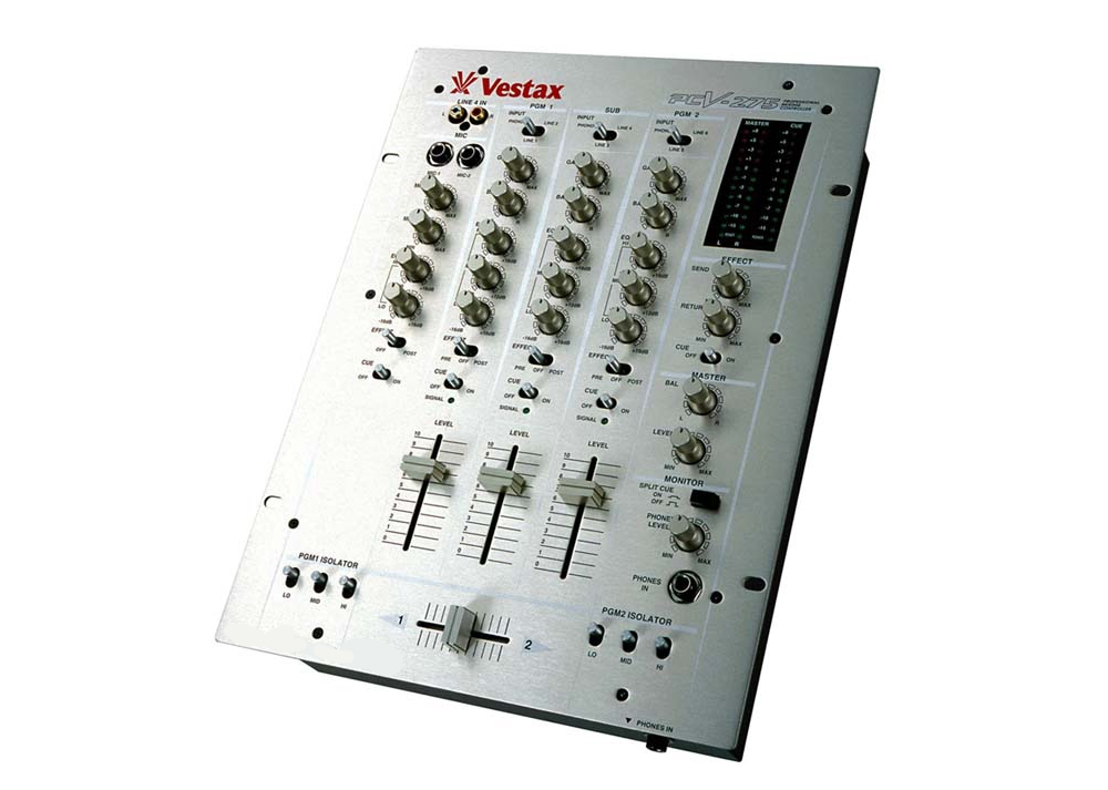 DJ-микшеры Vestax PCV-275