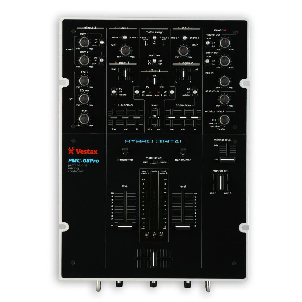 DJ-микшеры Vestax PMС-08Pro BLK