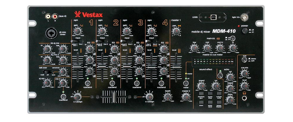 DJ-микшеры Vestax MDM-410