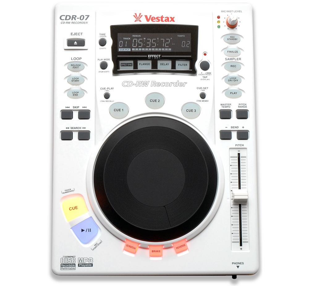 CD/USB-проигрыватели Vestax CDR-07