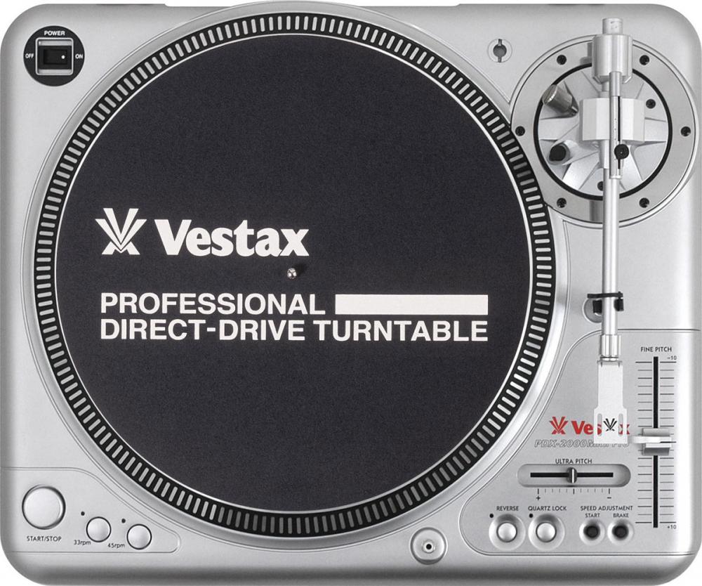 Проигрыватели винила Vestax PDX-2000 MK2 Pro
