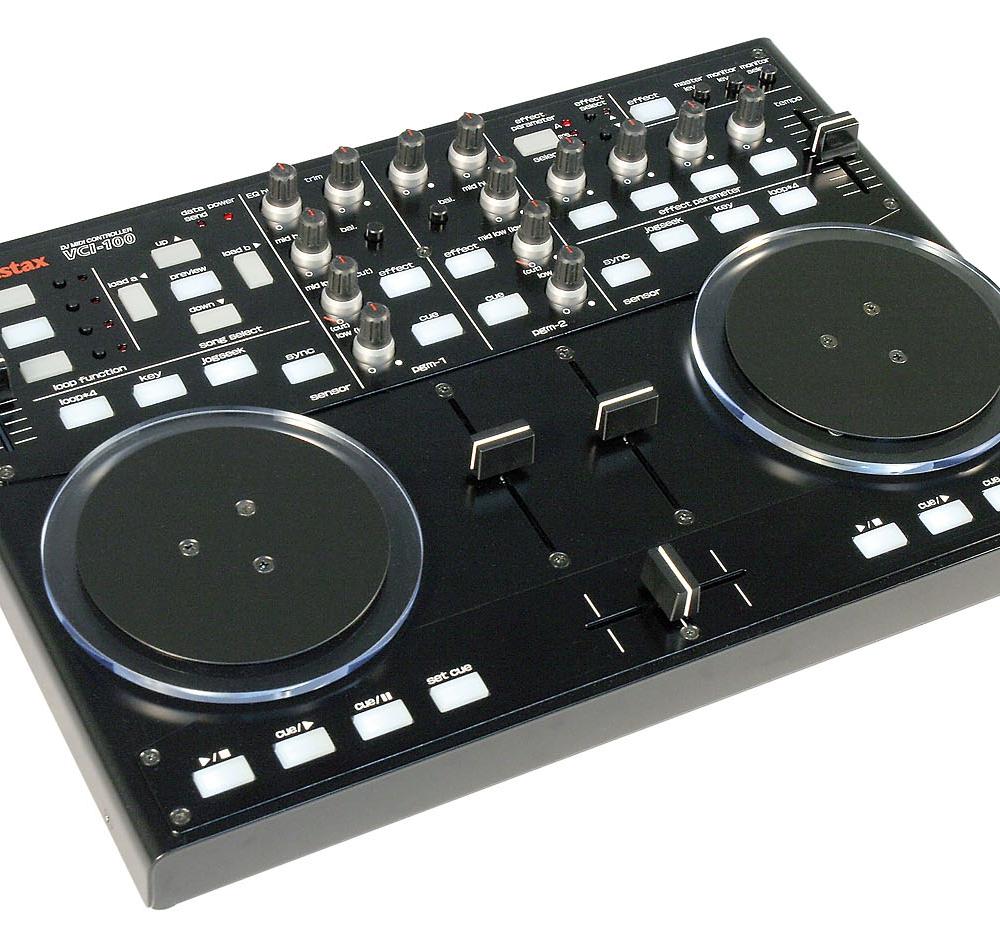 DJ-контроллеры Vestax VCI-100