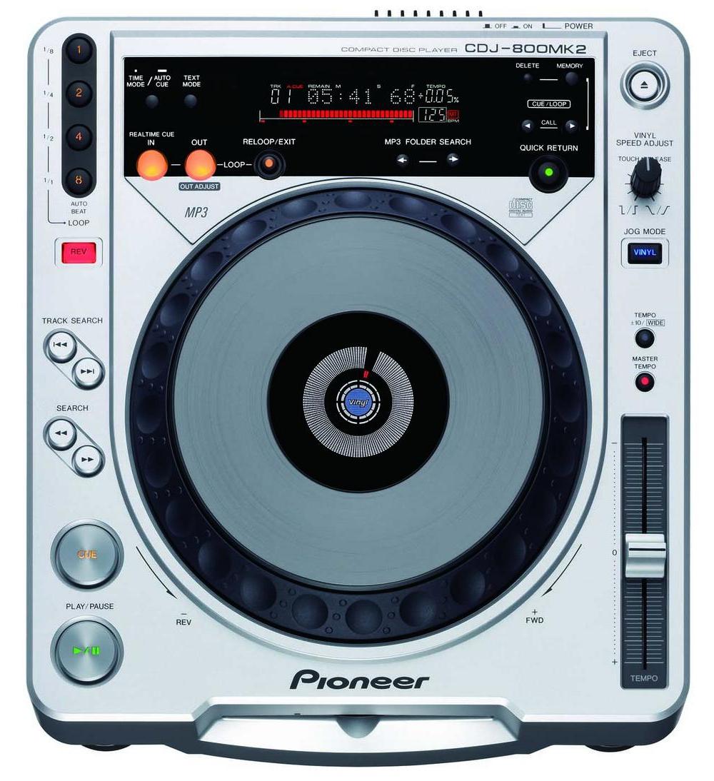 CD/USB-проигрыватели Pioneer CDJ-800 MK 2