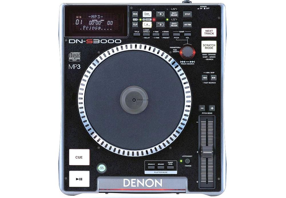 CD/USB-проигрыватели Denon DN-S3000 DJ
