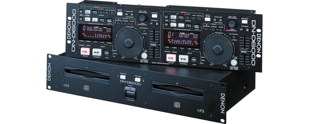 CD/USB-проигрыватели Denon DN-D6000