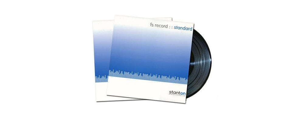 Пластинки с тайм-кодом Stanton Standart