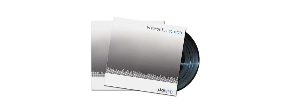 Пластинки с тайм-кодом Stanton Scratch