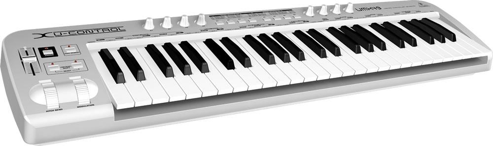 Midi-клавиатуры Behringer UMX49