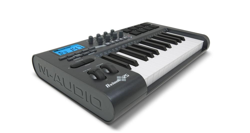 Midi-клавиатуры M-Audio Axiom 25