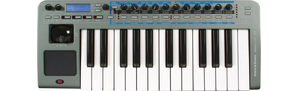 Midi-клавиатуры Novation XioSynth 25