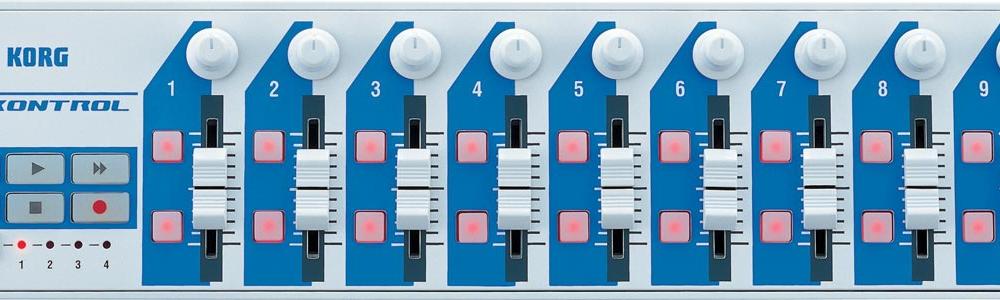 DJ-контроллеры Korg Nanokontrol