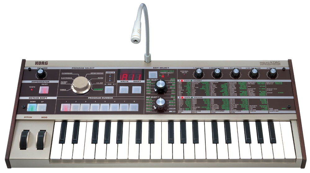 Midi-клавиатуры Korg Microkorg