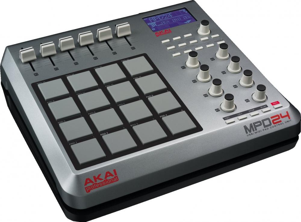 DJ-контроллеры Akai MPD24
