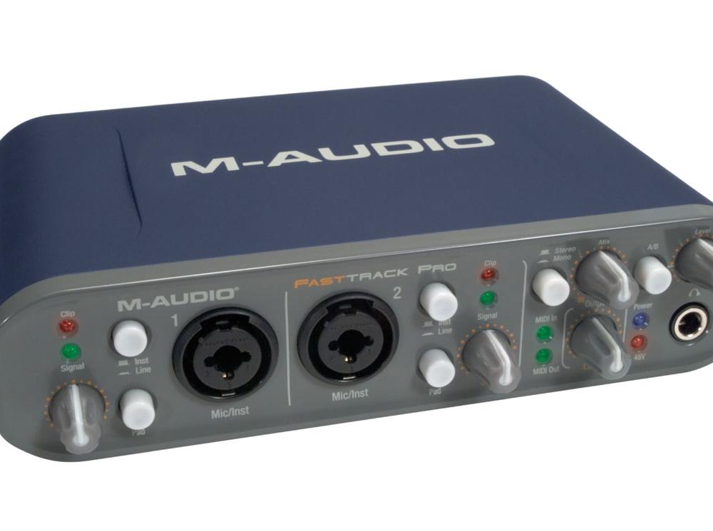 Звуковые карты M-Audio Fast Track Pro