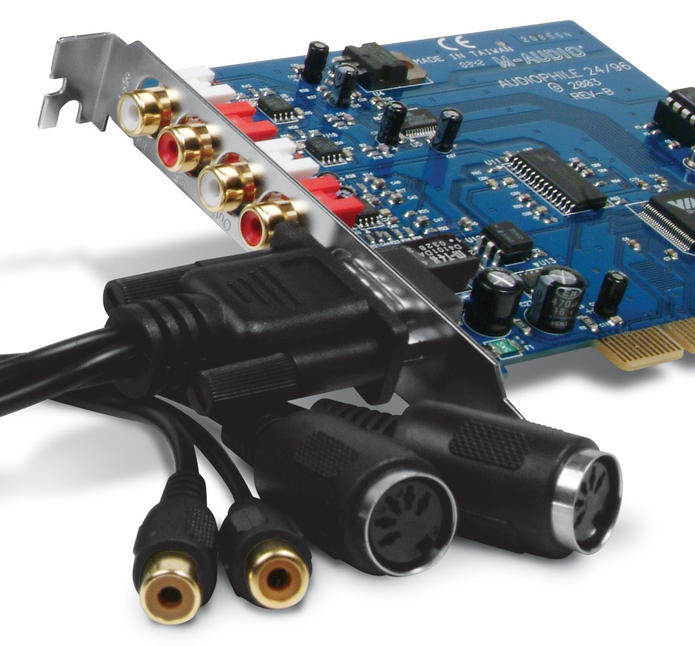 Звуковые карты M-Audio Audiophile 2496