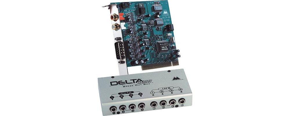 Звуковые карты M-Audio Delta 66