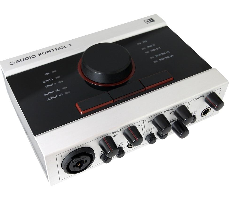 Звуковые карты Native Instruments Audio Kontrol 1