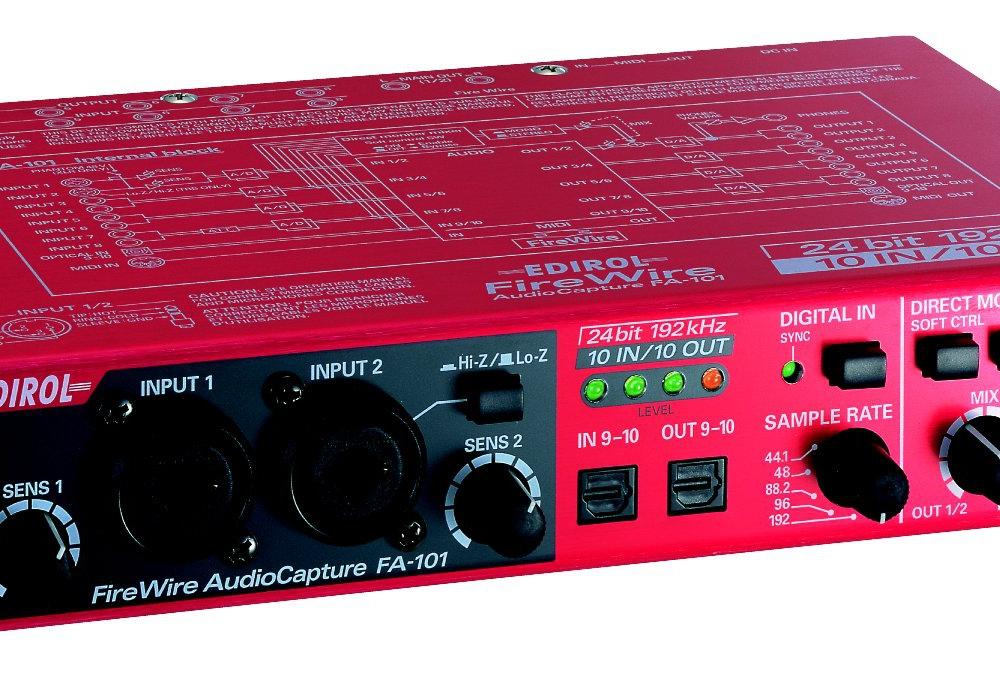 Звуковые карты Roland FA101 FireWire