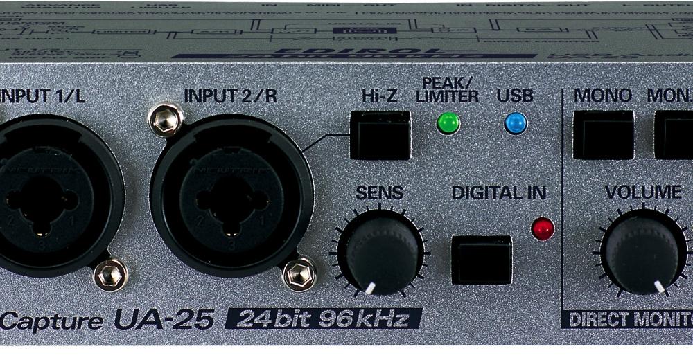 Аудио конверторы, рекордеры Edirol UA-25 USB