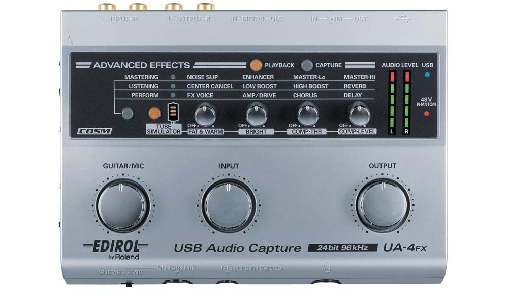 Аудио конверторы, рекордеры Edirol UA-4FX