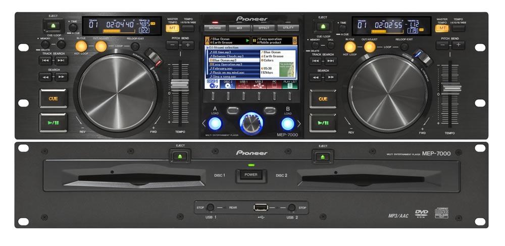 CD/USB-проигрыватели Pioneer MEP-7000