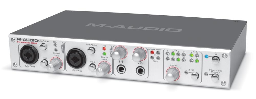 Звуковые карты M-Audio FireWire 1814