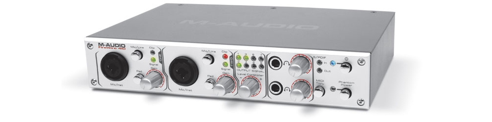 Звуковые карты M-Audio FireWire 410