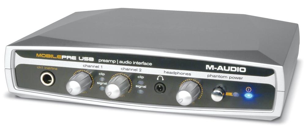 Звуковые карты M-Audio Mobile Pre
