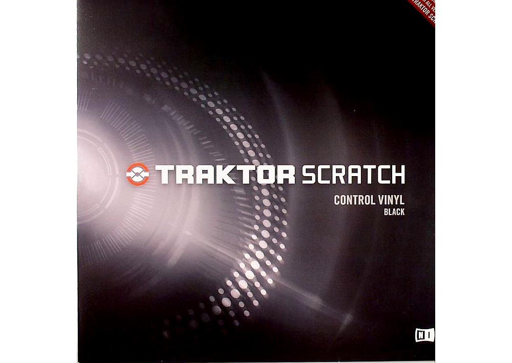 Пластинки с тайм-кодом Native Instruments Traktor Scratch Pro Control Vinyl Black