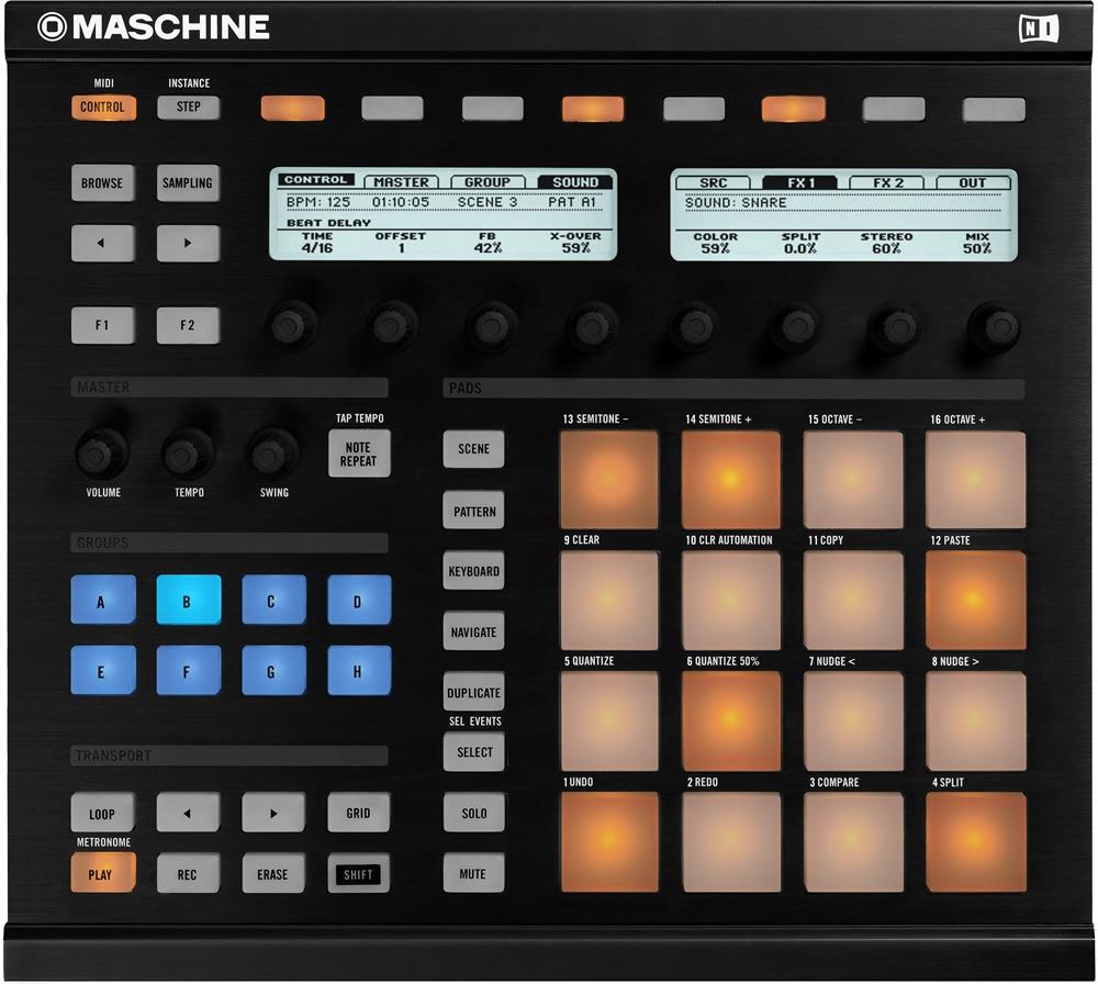 DJ-контроллеры Native Instruments Maschine