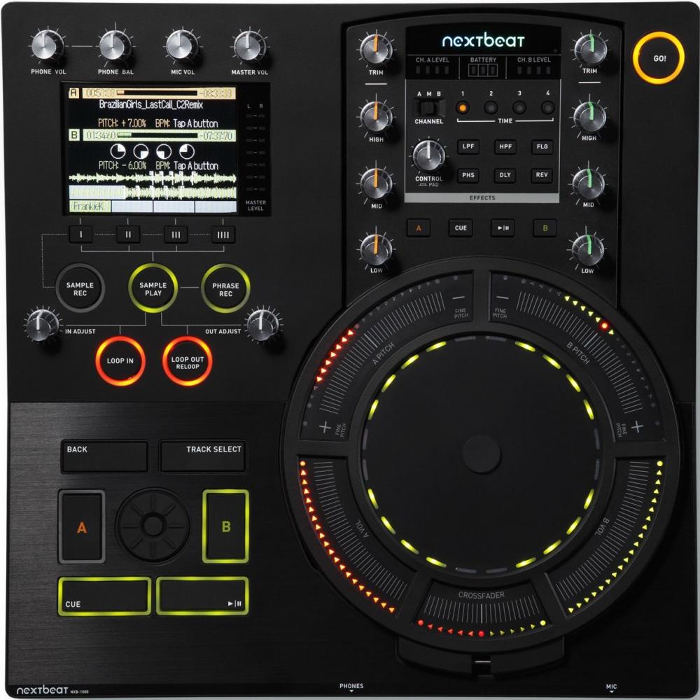 DJ-контроллеры Wacom Nextbeat