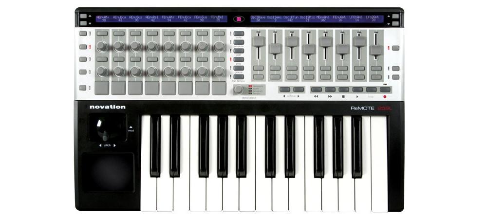 Midi-клавиатуры Novation ReMOTE 25 SL USB