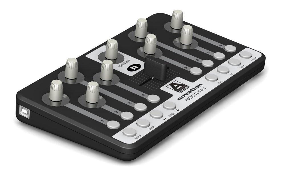 DJ-контроллеры Novation Nocturn