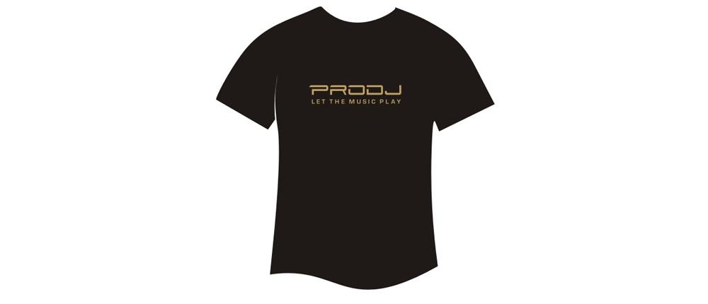 Футболки PRODJ Фирменная футболка  PRODJ Gold