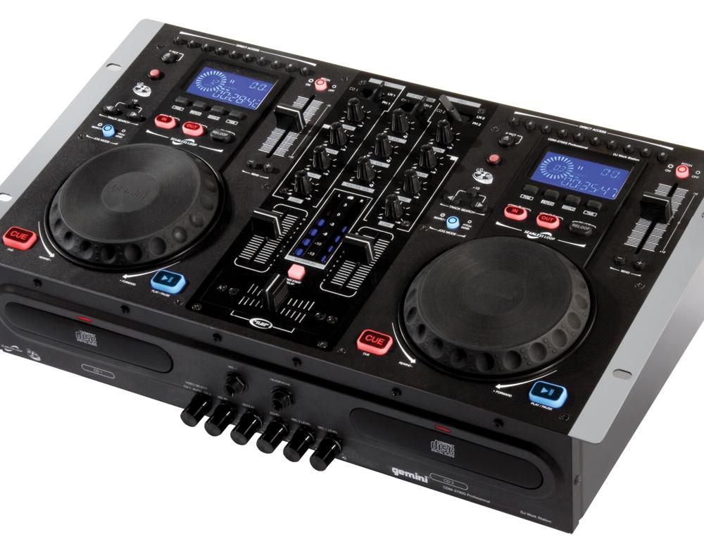 DJ-комплекты Gemini CDM-3700G
