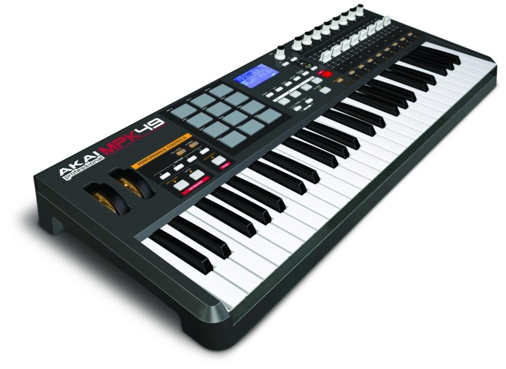 Midi-клавиатуры Akai MPK49