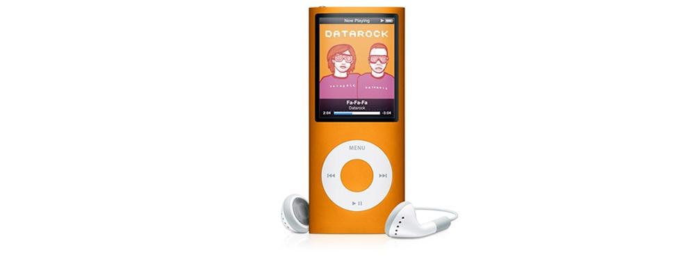 iPod nano Apple iPod nano 16GB Orange MB911 (4Gen)
