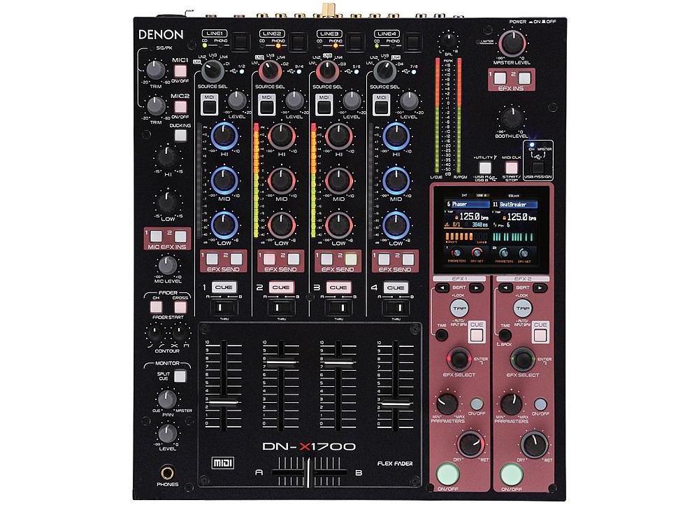 DJ-микшеры Denon DN-X1700