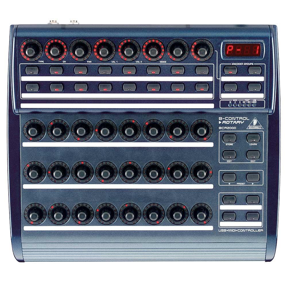 DJ-контроллеры Behringer BCR 2000 B-CONTROL ROTARY