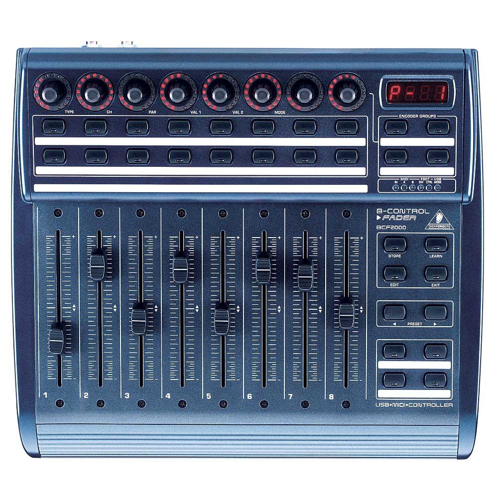 DJ-контроллеры Behringer BCF 2000 B-CONTROL FADER