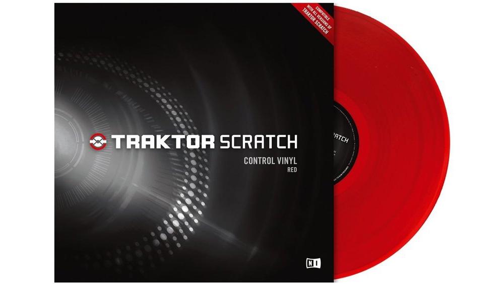Пластинки с тайм-кодом Native Instruments Traktor Scratch Pro Control Vinyl Red