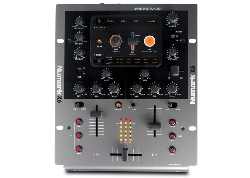 DJ-микшеры Numark X6