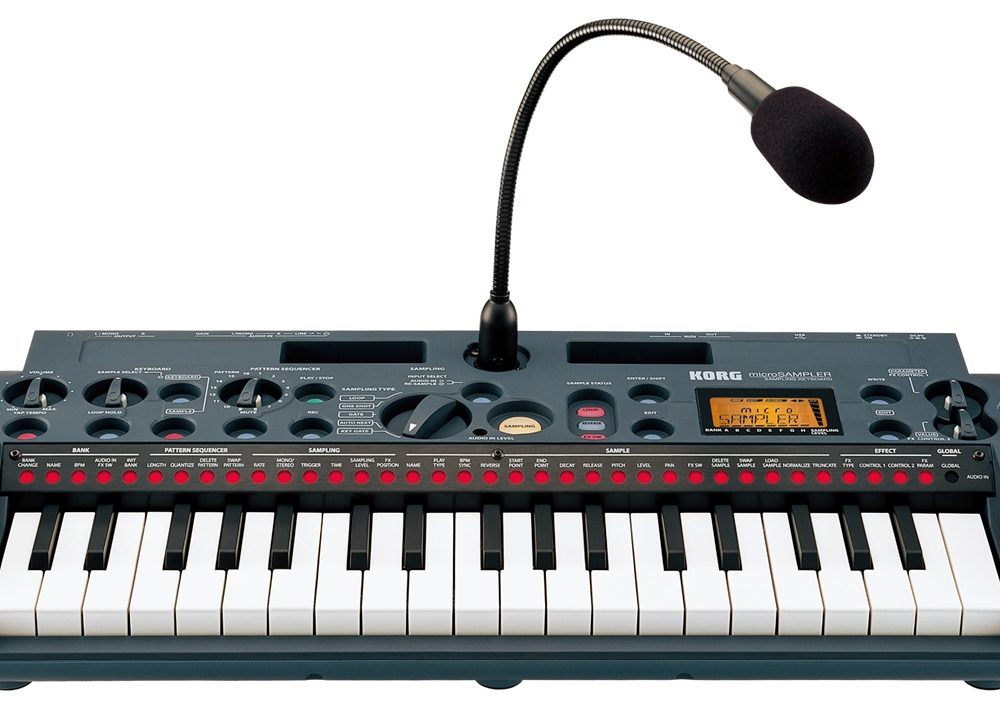 Midi-клавиатуры Korg Microsampler